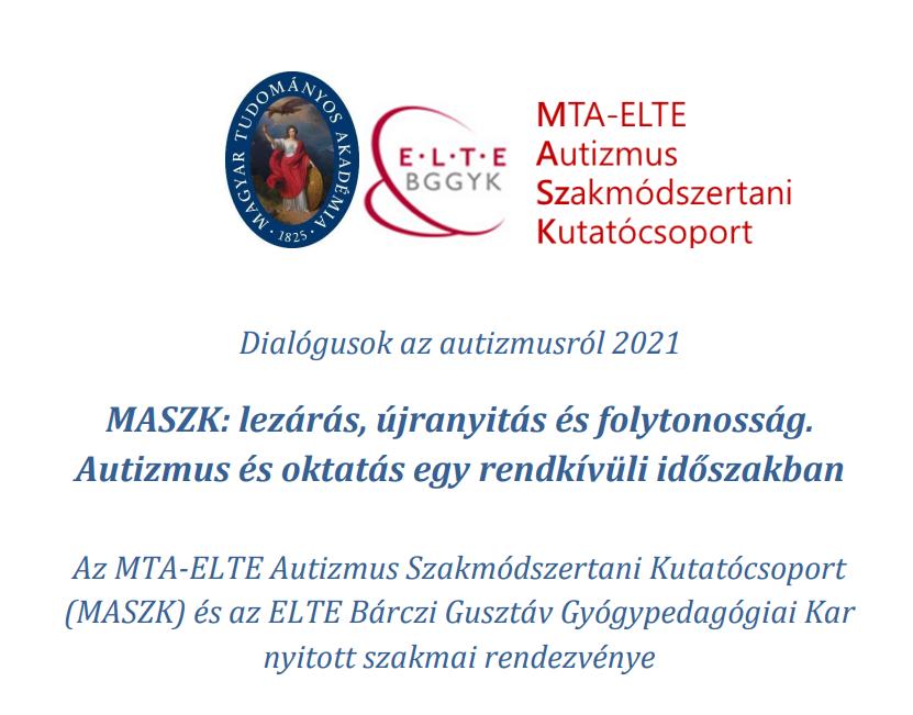 Dialógusok az autizmusról 2021